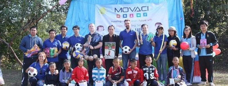 Movaci CSR 2016 – Baan Tung Ting School 1