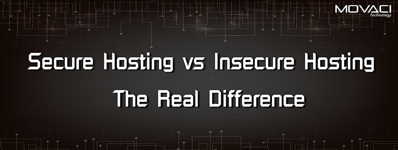 Secure Hosting vs Insecure Hosting: The Real Difference 1