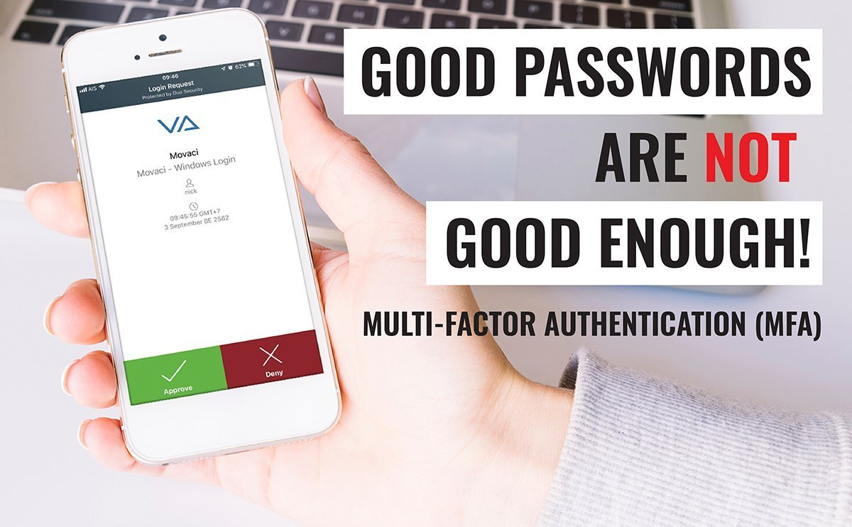 Good Passwords are Not Good Enough! 1