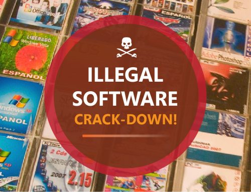 Illegal Software Crack-Down!