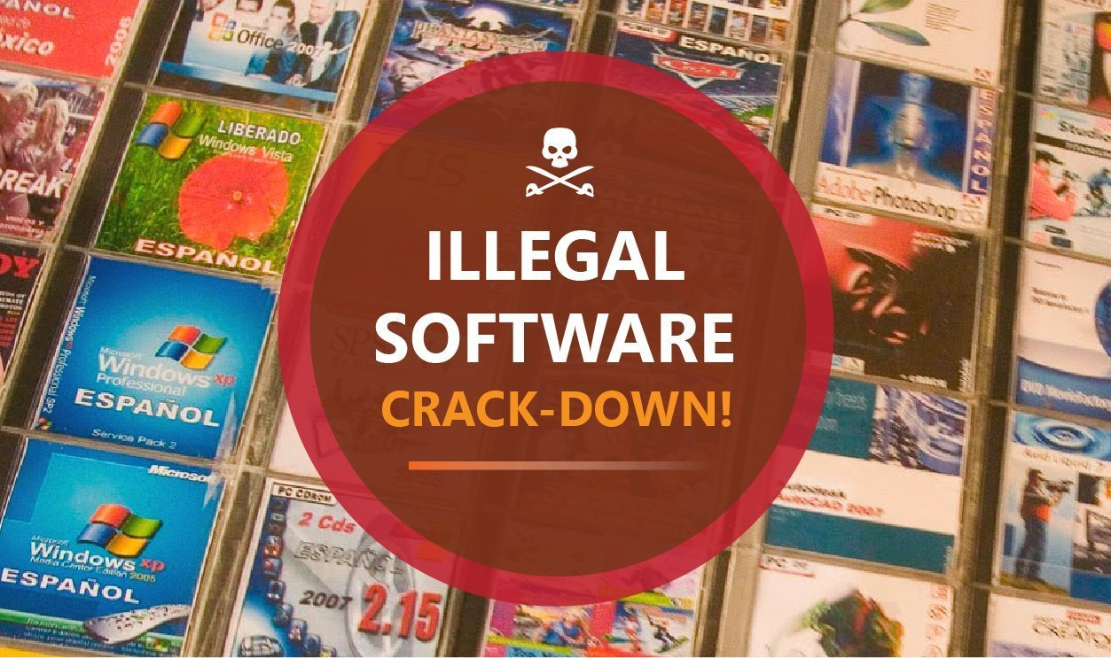 Illegal Software Crack-Down! 1