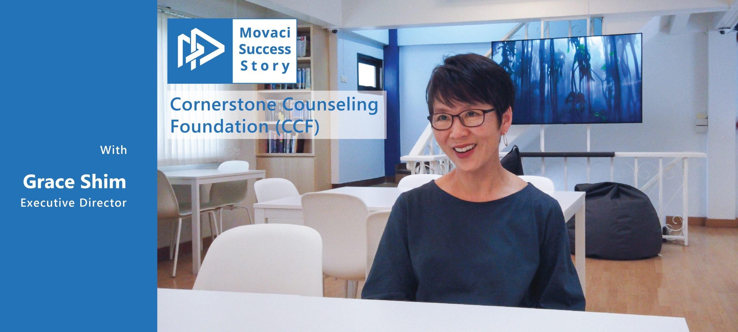Movaci Success Story: Cornerstone Counseling Foundation (CCF) 1